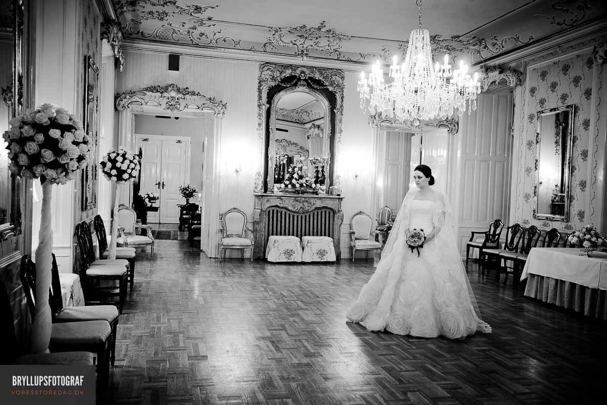 bryllupsfoto Hvedholm Slot Fyn