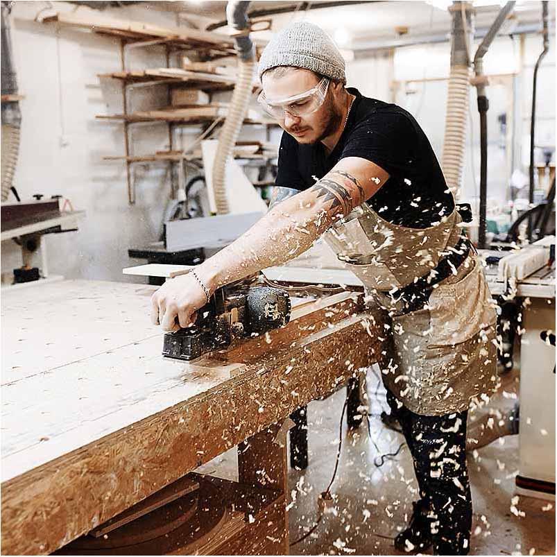 firma foto ved snedker Odense