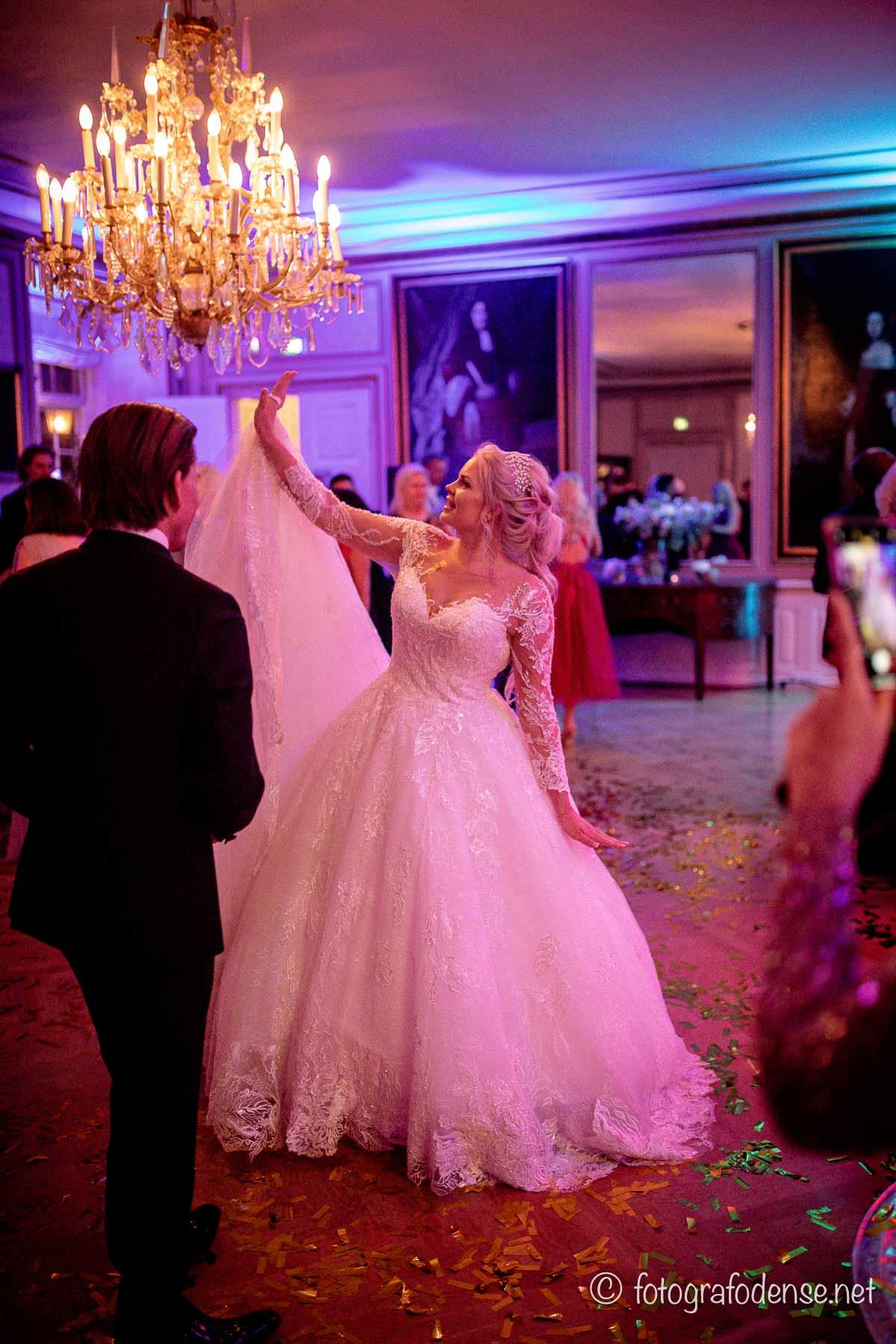 bryllupsfest på Holckenhavn Slot