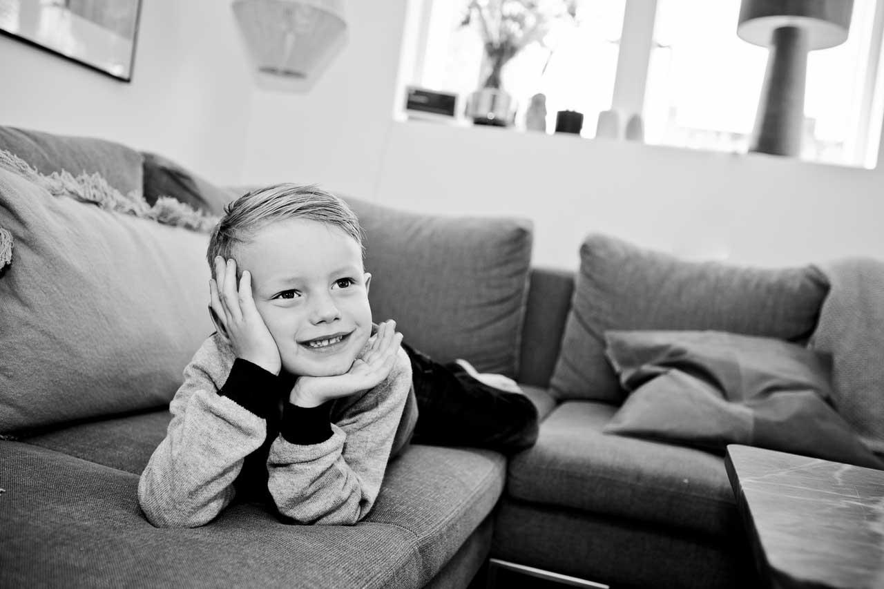 Børn synes det er sjovt at blive fotograferet i Vejle