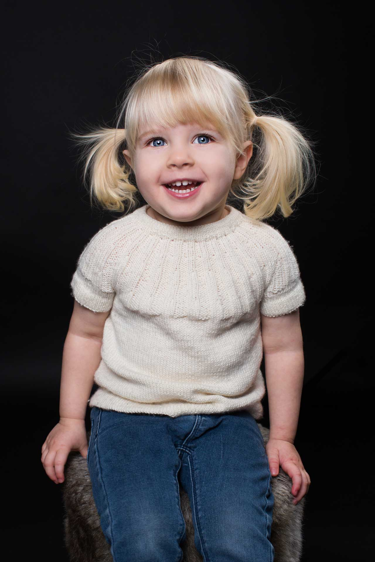 den kreative stil Børnefotografering